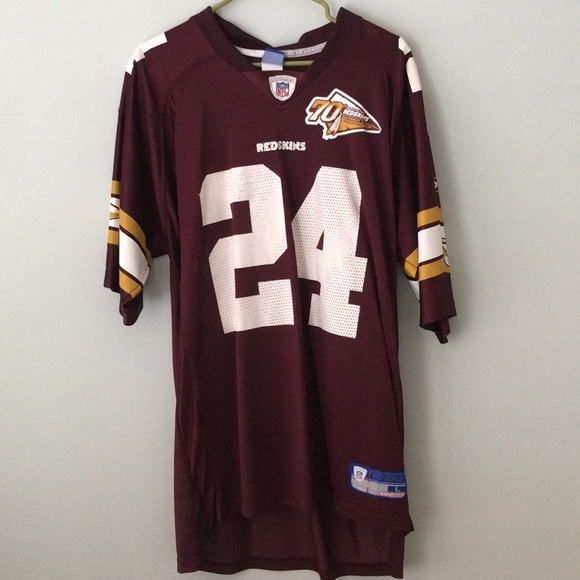 competitive price b3bcd 7682c Redskins - Champ Bailey Jersey #24 - 70th Anniv Ed